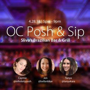 4/28 OC Posh and Sip